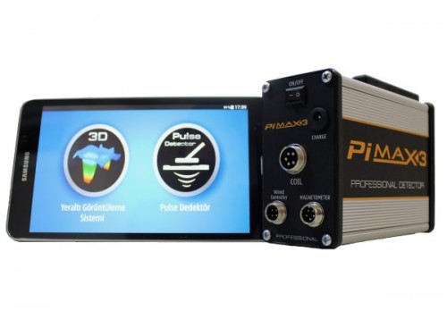 Pimax 3 Pulse Dedektör ve 3D Yeraltı Görüntüleme